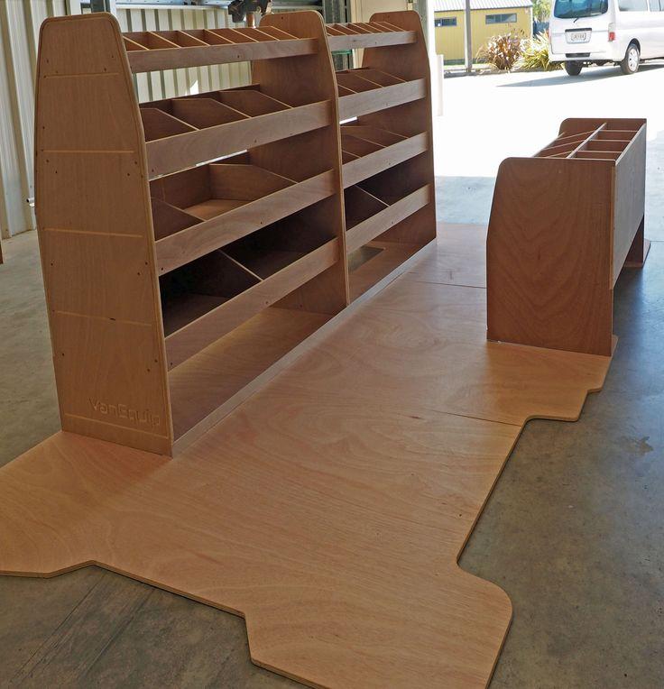 Craft Tech NZ Ltd Kitset Van Shelving and Floor