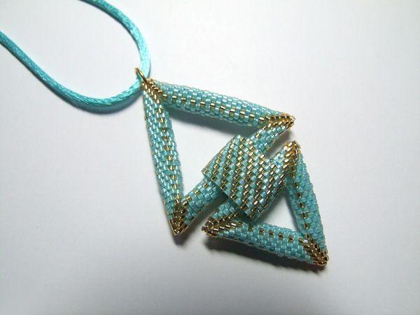 Duo de triangles--- except i think i'm make them both the same size