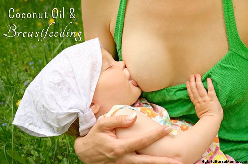 Coconut Oil and breastfeeding. Great info about other reason to consume and use it, too.