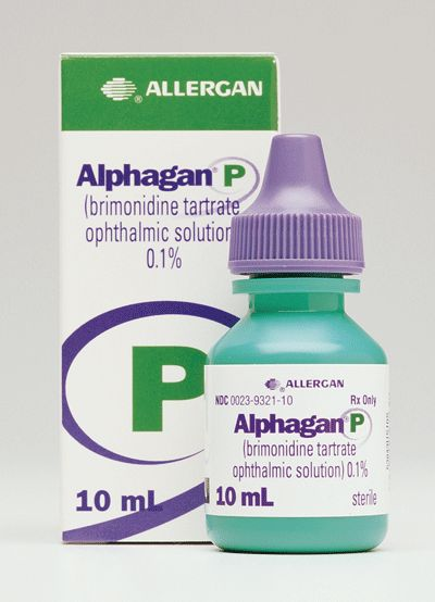 ALPHAGAN® P (brimonidine tartrate ophthalmic solution) 0.1% or 0.15% is an alpha adrenergic receptor agonist indicated for the reduction of elevated intraocular pressure (IOP) in patients with open-angle glaucoma or ocular hypertension.