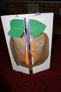 So cute! Opens up to a butterfly! Great project #education