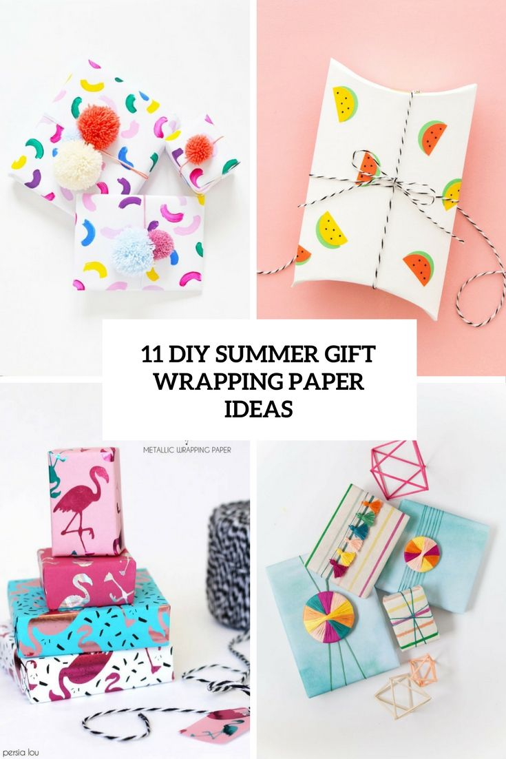 diy summer gift wrapping paper ideas cover   www.homeology.co.za