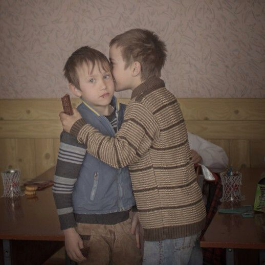 World Press photo 2015, Daily Life, 2nd prizesingles, Åsa Sjöström BIRTHDAY CHOCOLATE Igor hands out chocolate to a friend on his ninth birthday. When he and his twin brother Arthur were two years old, their mother traveled to Moscow to work in the construction field and later died. They have no father. They are among thousands of children growing up without their parents in the Moldovan countryside. Young people have fled the country, leaving a dwindling elderly population and young…
