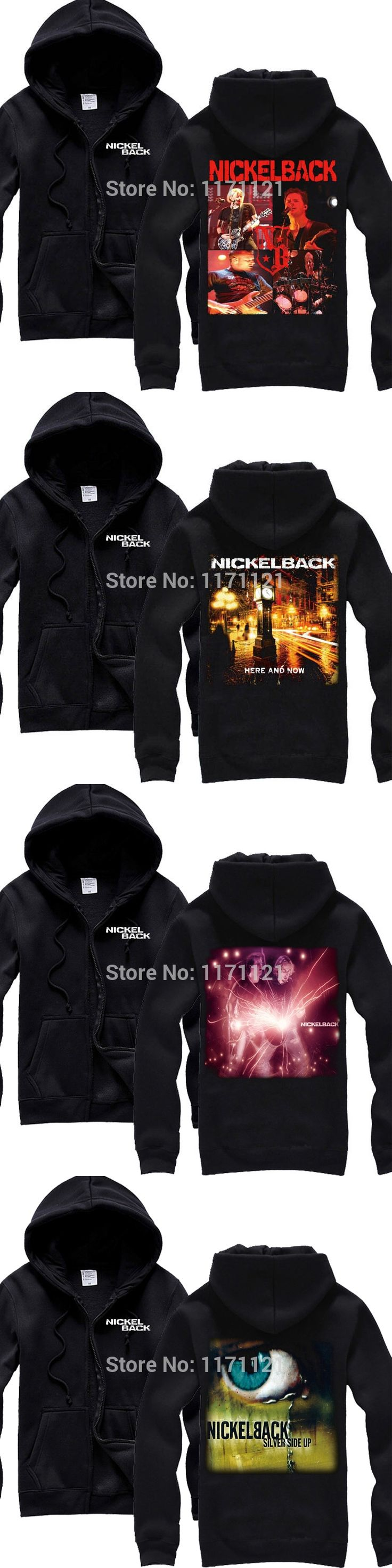 NICKELBACK  band  Canadian Rock Band  post-grunge Dark Horse hoodie