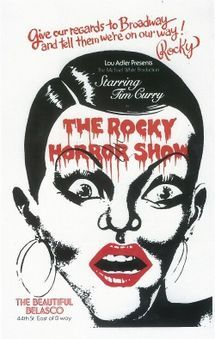 The Rocky Horror Show - Cast, had to drop out illness :-(