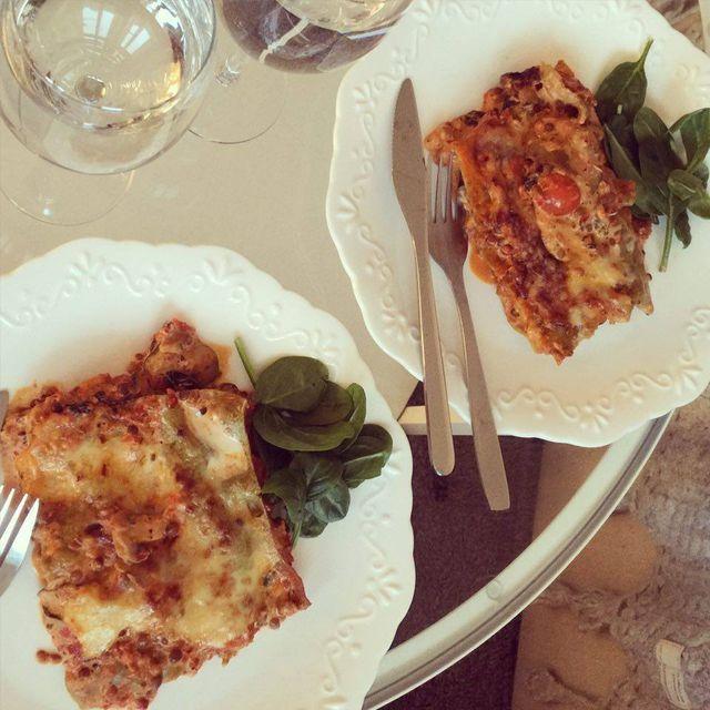 Vegetarisk lasagne | gabriellajoss | Bloglovin'