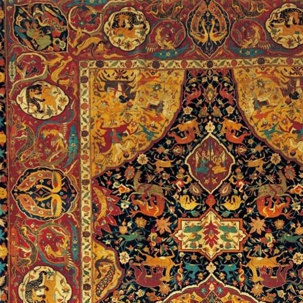 A Delicate Sanguszko Safavid Carpet Late 16 Century Located In Miho Museum The Majestic And Elegant Design Of This Miho Museum Rugs On Carpet Carpet