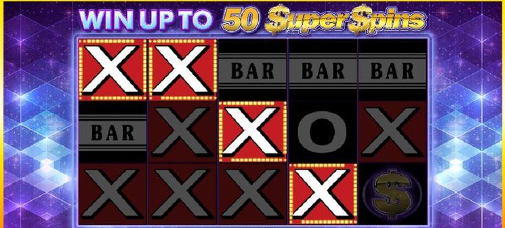 Bavte se s výherním automatem Super Spinner Bar X od softwarových odborníků Blueprint Gaming na pěti válcích, které vás překvapí svou vizáží v retro stylu. #SuperSpinner #BarX #videoslot