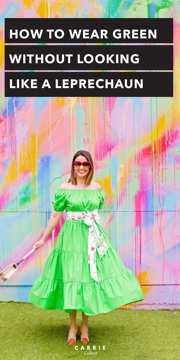 5 Tips for Wearing Green - Carrie Colbert