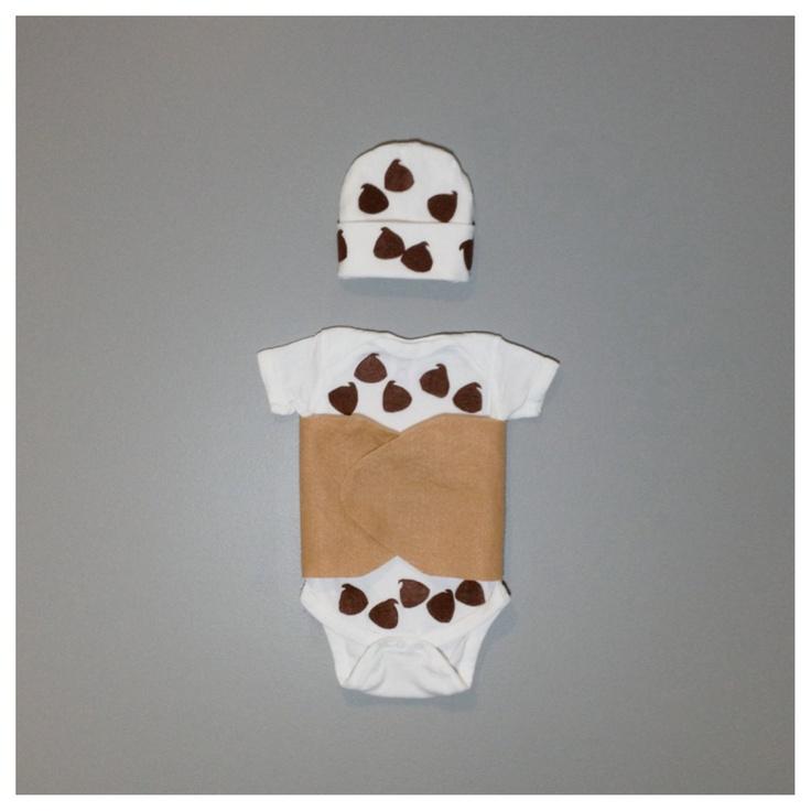 Chocolate Chip Cannoli Baby Halloween Costume - Funny Baby Costume. via Etsy.