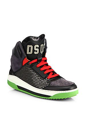 replica designer handbags thailand - DSQUARED2 Techno Barca High-Top Sneakers | MEN MEN MEN | Pinterest ...