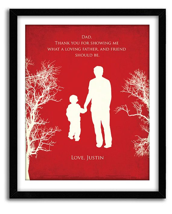 Christmas gift for dad from kids Christmas by GoodNightOwlDesigns