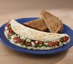 [Recipes] Lean, High Protein, Spinach Tomato Feta Egg White Omelette — Lean It UP Fitness