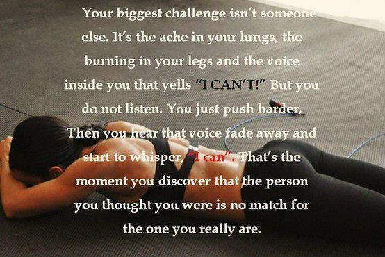 I canThoughts, Challenges, Remember This, Inspiration, Motivation Quotes, Crossfit, Health, Workout, The Voice