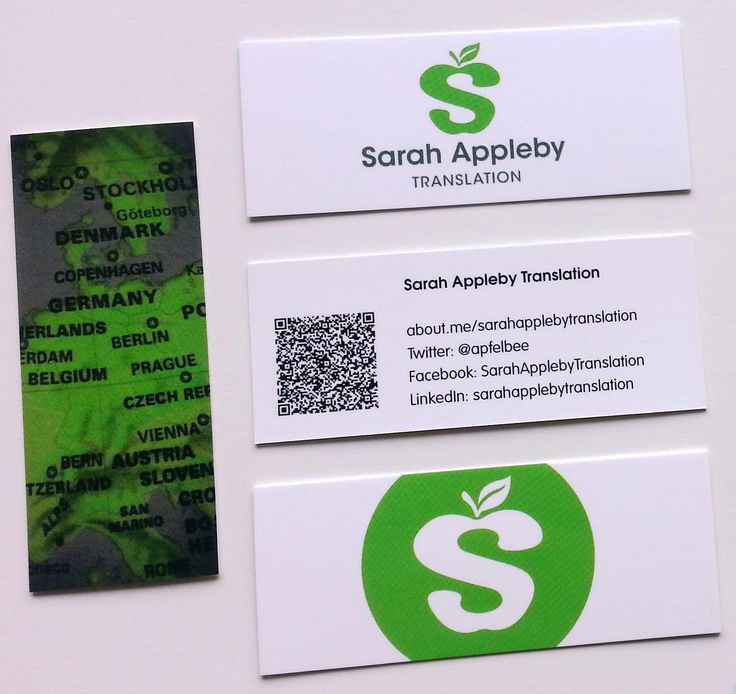 New mini cards for informal networking | © Sarah Appleby