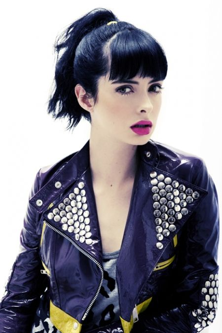 The Brunette Shake: Krysten Ritter : Live with Kelly and Michael