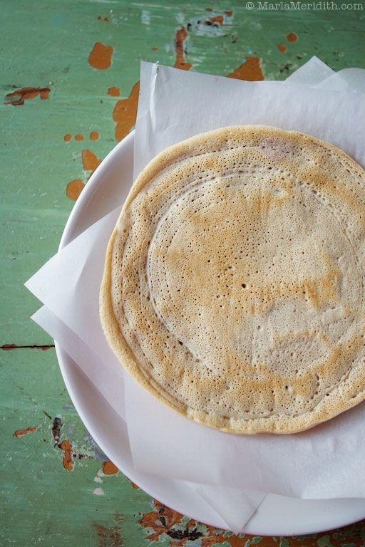 Gluten Free Crepes! | gluten free | Pinterest