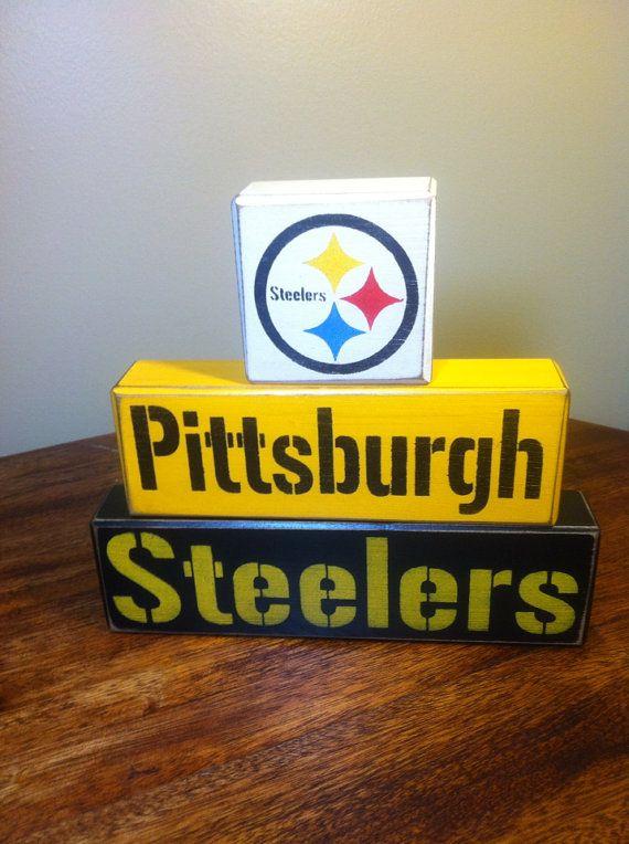 Pittsburgh steelers block set football team by AppleJackDesign