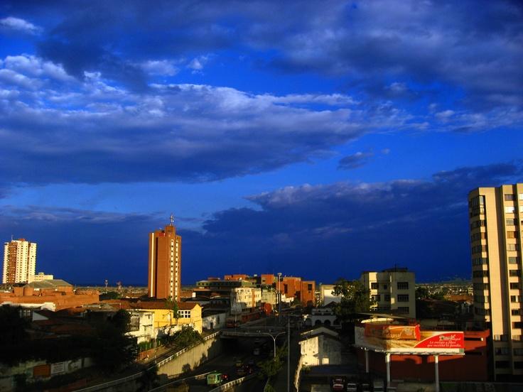Un cielo azul :)