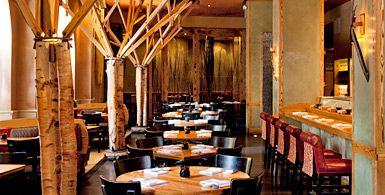 Dining room at Nobu Tribecca | A Look Inside | Pinterest | Restaurants