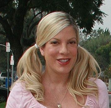 tori spelling pigtails | pigtails tori spelling | Looks - Hair - Pigtails, Two Ponytails | Pin ...