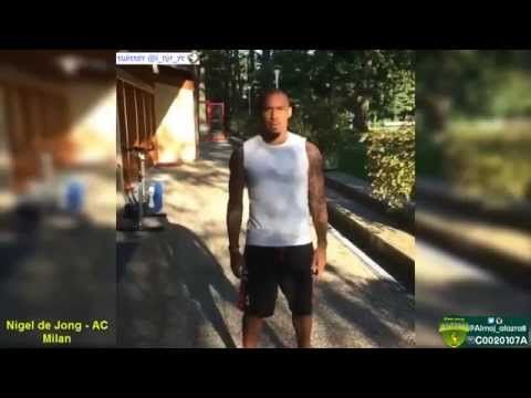 Football Players - Ice Bucket Challenge Compilation 2014