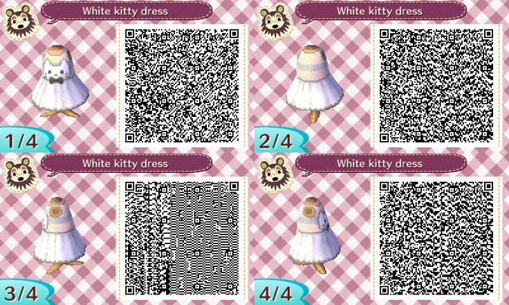 Kitty dresses in black and white! :>