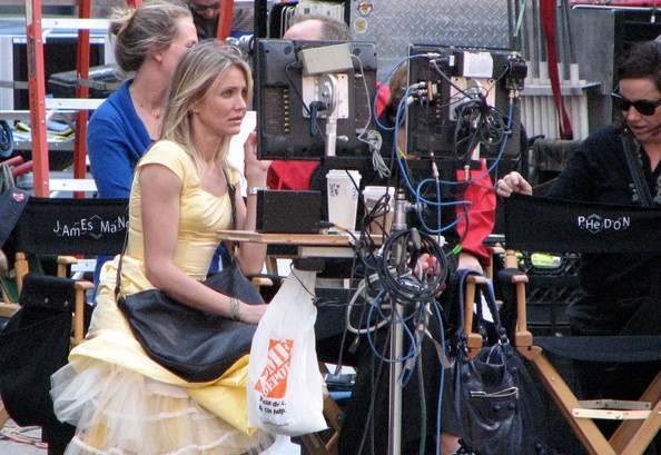 Cameron Diaz Photo - Tom Cruise and Cameron Diaz Film for 'Wichita'