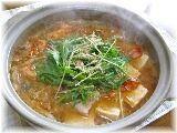 楽天が運営する楽天レシピ。ユーザーさんが投稿した「豚バラ肉とごぼうと豆腐のキムチ鍋」のレシピページです。最後の〆には中華麺を入れて、キムチラーメンにしたり、お餅を入れて煮込んでも美味しいです。。キムチ鍋。豚バラ肉,白菜キムチ(大根キムチも可),ごぼう,木綿豆腐,水菜,・・調味料 A・・,水,鶏ガラスープ(顆粒),・・調味料 B・・,味噌