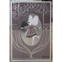 Greeting card with Fairy incl. 2 envelopes