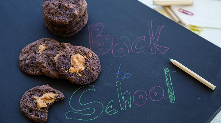 Μαλακά cookies με σοκολάτα & φυστικοβούτυρο
