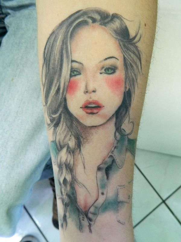50 Amazing Girl Tattoo Designs   Cuded