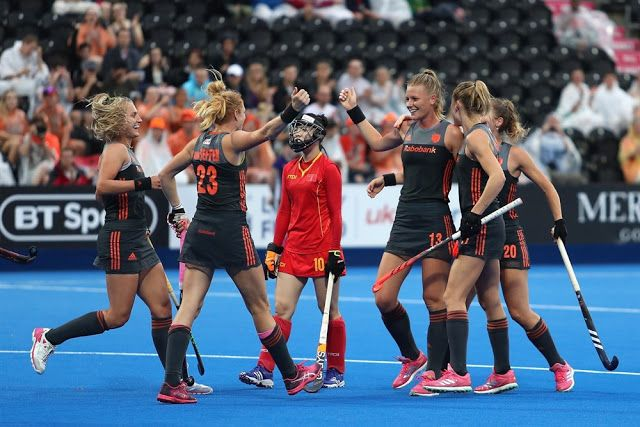 Hockey World Cup London 2018 Womens Chn Vs Ned Pool A Netherland Beat The China In Ho Hockey World Cup Women S Hockey Team Goals
