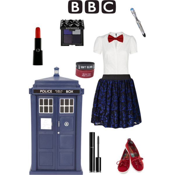 Doctor who themed outfit! I can so make this happen.
