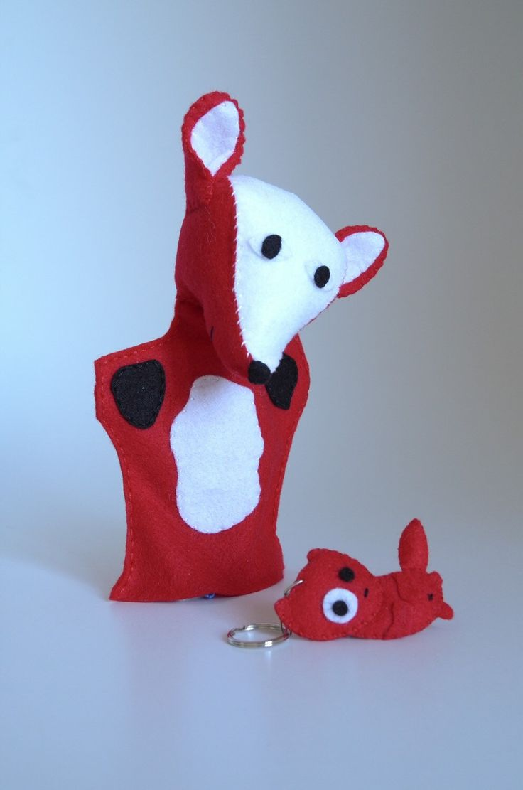 A personal favourite from my Etsy shop https://www.etsy.com/listing/268128712/fox-puppet-and-fox-keychain-children-toy