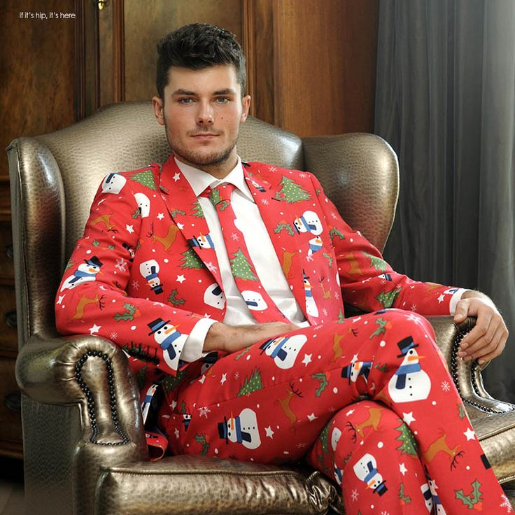 These Ugly Christmas Suits Are Fabulously Festive. | http://www.ifitshipitshere.com/ugly-christmas-suits-fabulously-festive/