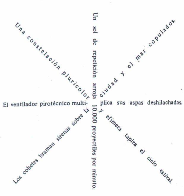 """ULTRAISMO Vicente Huidobro """"Girándula"""""""
