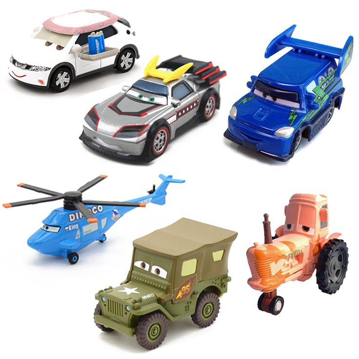 Disney Pixar Cars 14 Styles Metal Car Sarge Lizzie 1:55 Diecast Metal Alloy Toys Birthday Christmas Gifts For Kids Cars Toys