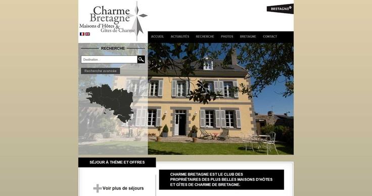 Nous vous en avons parlé depuis plusieurs jours, nous avons lancé aujourd'hui le premier site web de notre club Charme Bretagne.  Charme Bretagne regroupe les plus belles chambres d'hôtes de charme et gîtes de charme de Bretagne.  L'association est forte de plus de 40 membres sur les 5 départements bretons: Côtes d'Armor, Finistère, Ille et Vilaine, Loire Atlantique et Morbihan. De Fougères, Rennes, Nantes, Saint Malo, Perros Guirec, Carhaix, Dinan, Dinard, Saint Brie