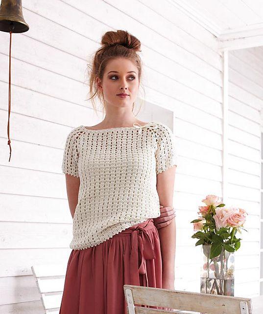 Ravelry: S8072 Ladies Crochet Shirt pattern by Tanja Steinbach
