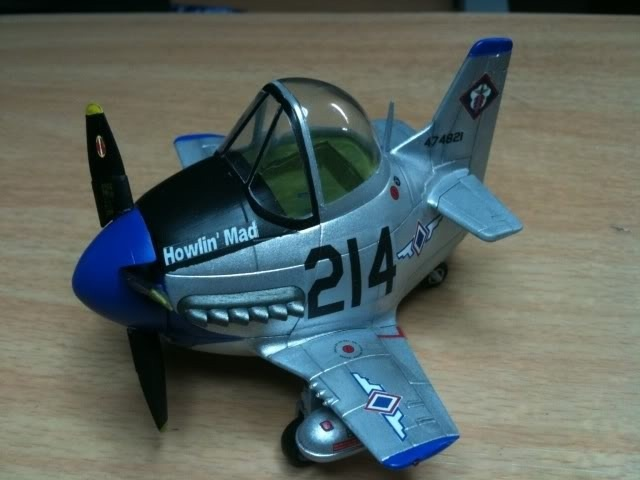 P-51D Mustang in Philippine Air Force markings.