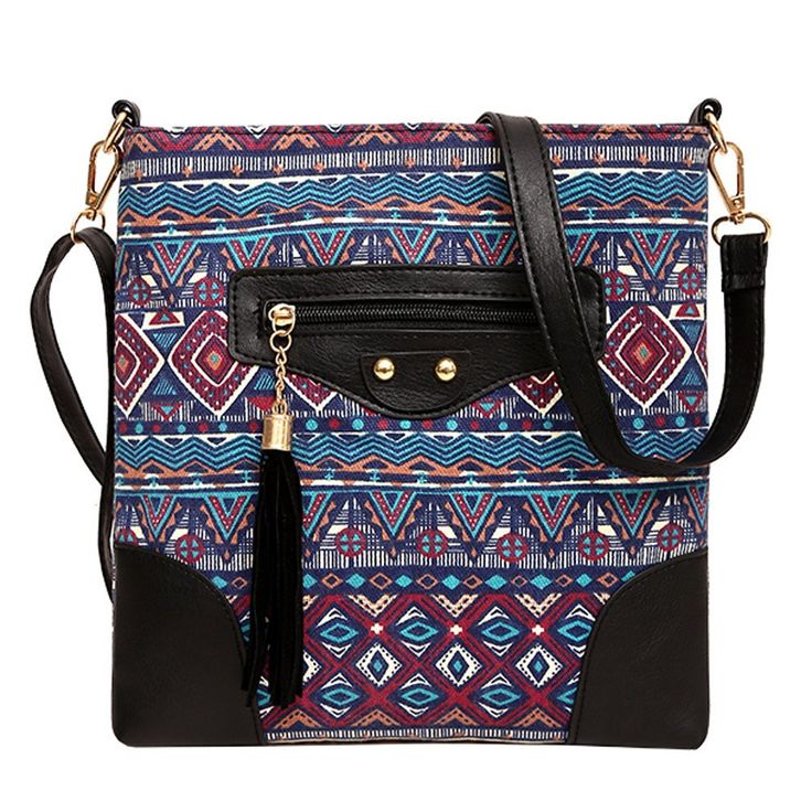 Embroidery Ethnic Cross-body hand bags