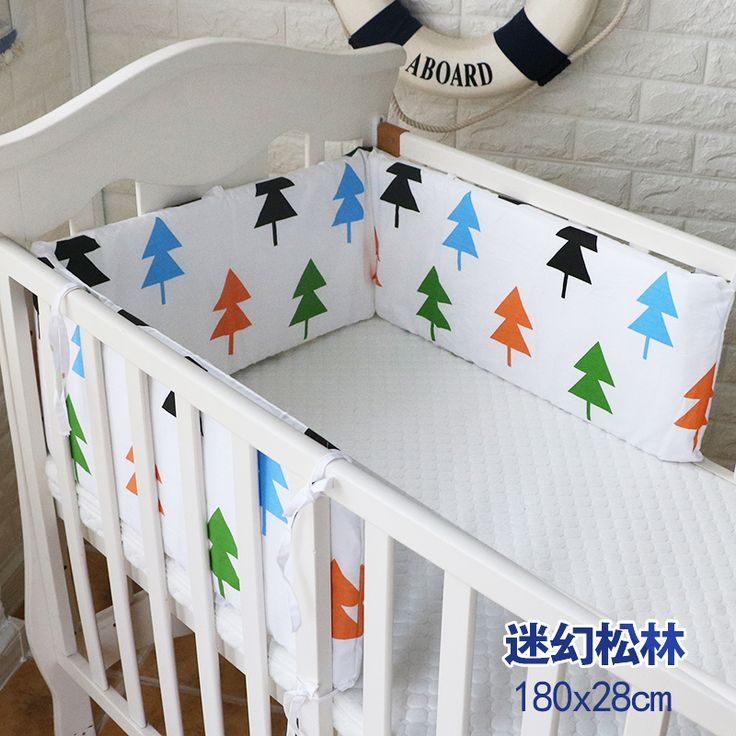 >> Click to Buy << 1 pc Baby Bumpers Cotton Soft Anti-Collision Baby Bedding Bumper Crib Decoration Baby Bed Bumper Bedding tree monkey  180*28cm #Affiliate