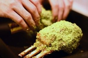 Gordon Ramsey's Herb Crusted Rack of Lamb