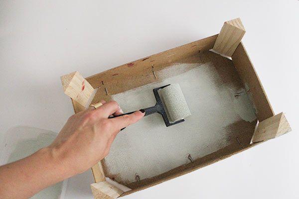 BBB. DIY caja de fresas con chalk paint