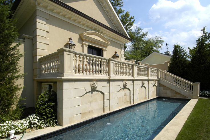 4c.JPG   Custom homes, Custom pools, French country house on Colao & Peter Luxury Outdoor Living id=51239