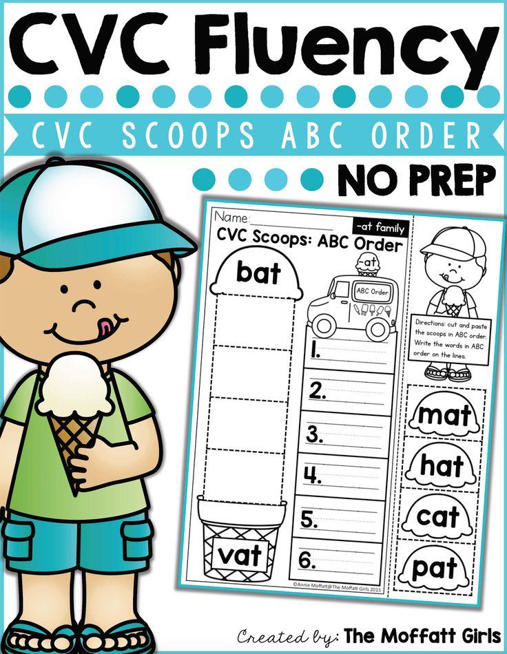 How to Teach CVC Word Families! Cvc words, Cvc word