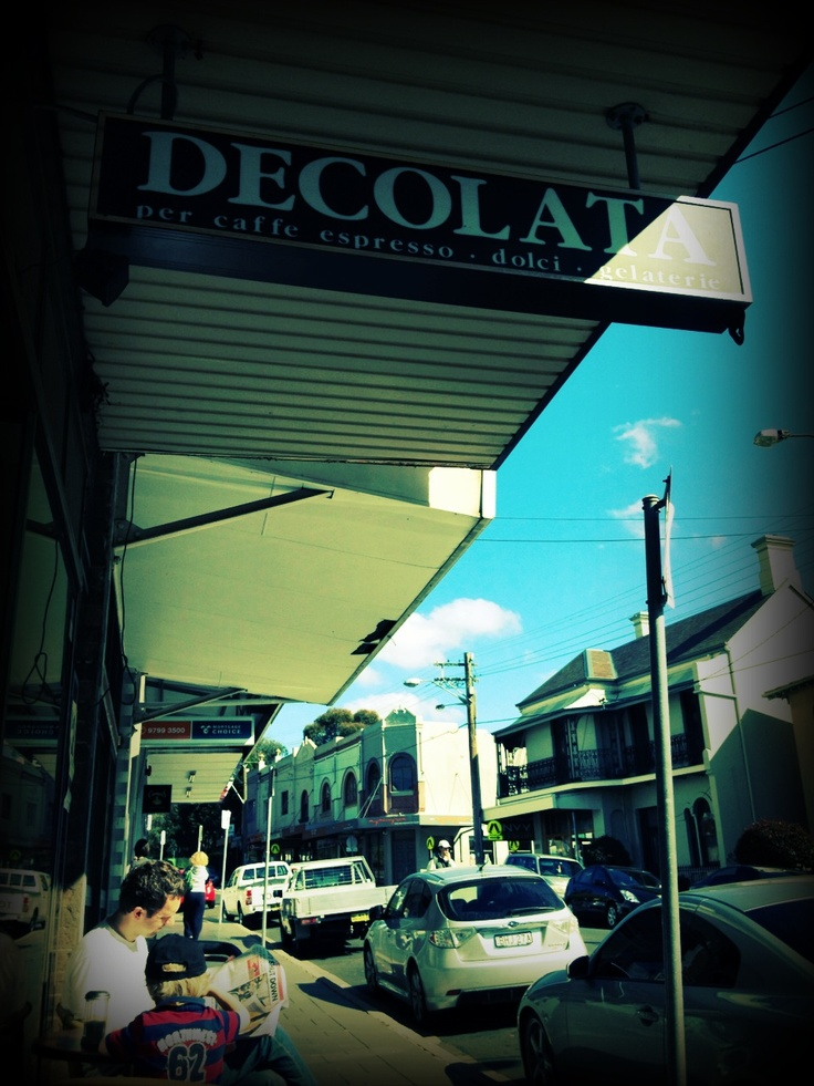 This small but very nice cafe is located in Summer Hill Sydney Australia. The food is tasty, the coffee is ok. Sitting down and enjoying coffee you will hear Jazz Music coming out of their Stereo. They have a caught-yard out the back for relaxing in the sun. I would highly recommend this cafe.