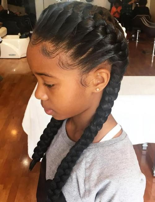 Magnificent 1000 Ideas About Black Girls Hairstyles On Pinterest Girl Hairstyles For Women Draintrainus