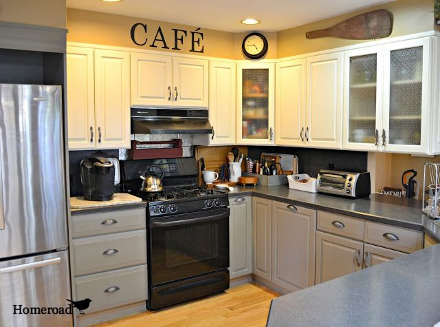 My Chalk Painted Kitchen Is Finished Chalk Paint Home Decor Kitchen
